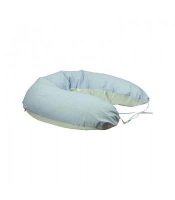 Подушка для годування Руно Блакитна + наволочка 30х175 (969БВУ_блакитний)