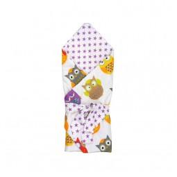 Одеяло-конверт для новорожденных Руно Совы