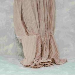 Плед-покривало Viluta Флісове Bamboo Line Кремове 200х230 см (172102)