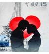 """Плед-покривало Viluta Флісове Фотопринт """"Amour"""" 150х200 см (161120)"""