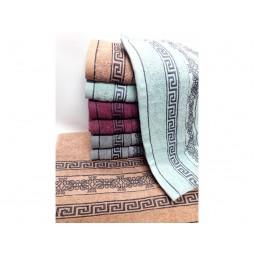 Банні рушники Версаче-Завиток 100х50 (9981)