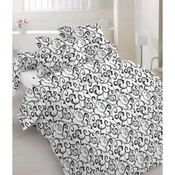 Комплект постільної білизни Malva односпальний Комбінований (000051-1)