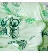Ковдра Arda, Евкаліпт салатова з малюнком 155 х 210 (A135011)