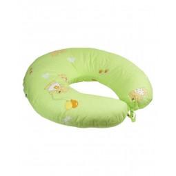 Подушка для годування Руно силіконове волокно + наволочка Салатова 65х65 см (909_Салатовий)