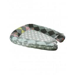 Подушка-кокон для немовля Руно Горошок 51х80 см (910Горошок)