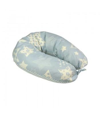Подушка для годування Руно Blue star + наволочка 30х175  (969БВУ_Blue star)