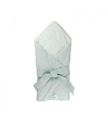 Ковдра-конверт для новонароджених Руно Блакитний 75х75 см (957СУ_блакитний)