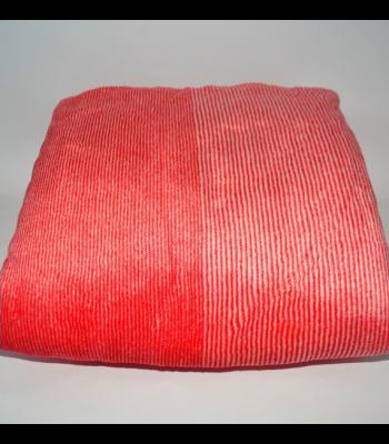 Плед велюр-мікрофібра Червиний 200х230 см (1620)