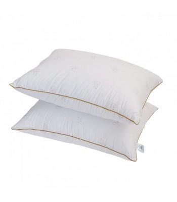 Подушка Arda Bamboo, біла з кантом 50 х 70 (A135020)
