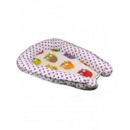 Подушка-кокон для немовля Руно Зірка 51х80 см (910Зірка)