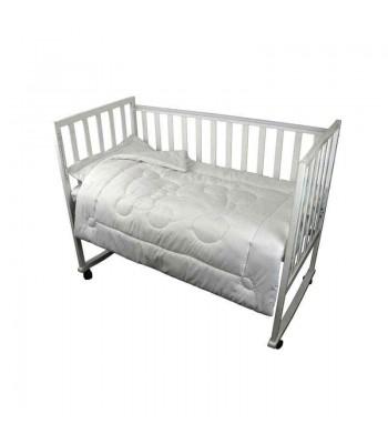 Комплект для дитячого ліжка Руно Ковдра 90х110 + Подушка 40х60 см Білий (923.52ХБУ )
