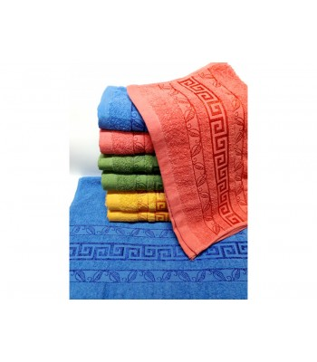 Банний рушник Версаче Листок 100х50 (9962)
