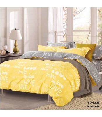 Комплект постільної білизни Viluta Ранфорс двоспальний (17148 желтый)
