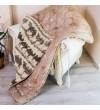 Ковдра Arda Хутро, коричневе 155 х 210 (A134993)