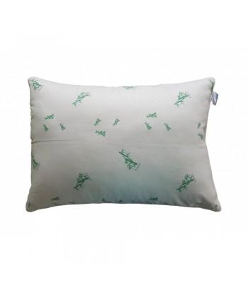 Подушка Arda Bamboo, біла з малюнком 70 х 70 (A135021)
