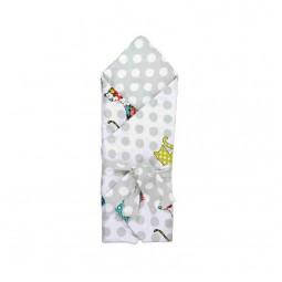 """Ковдра-конверт для новонароджених Руно """"Cat"""" 85х85 см (957СУ_Сat)"""