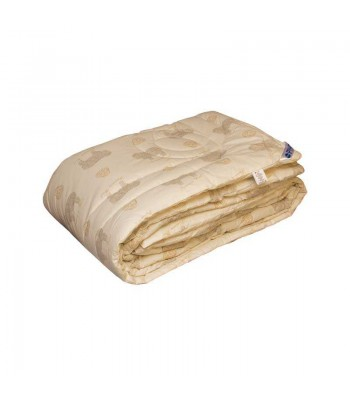 "Ковдра Руно Вовняна ""Premium Wool"" 155х220 см Бежева (317.02ШК+У_Premium Wool)"